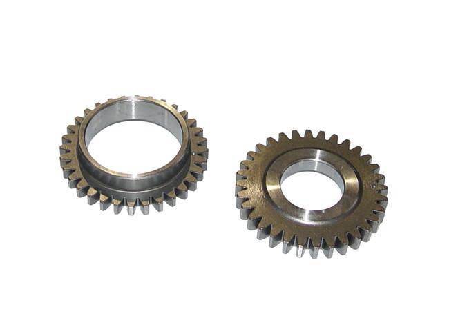1.ZA1平衡轴齿轮;2.ZA1平衡轴驱动齿轮